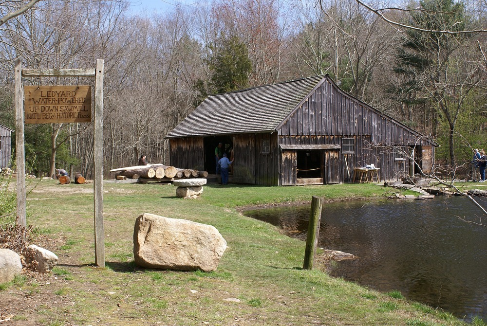 Ledyard CT Up and Down Saw Mill